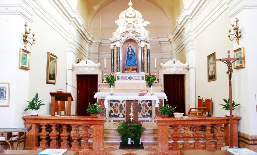 Chiesa della Beata Vergine della Neve, Villimpenta