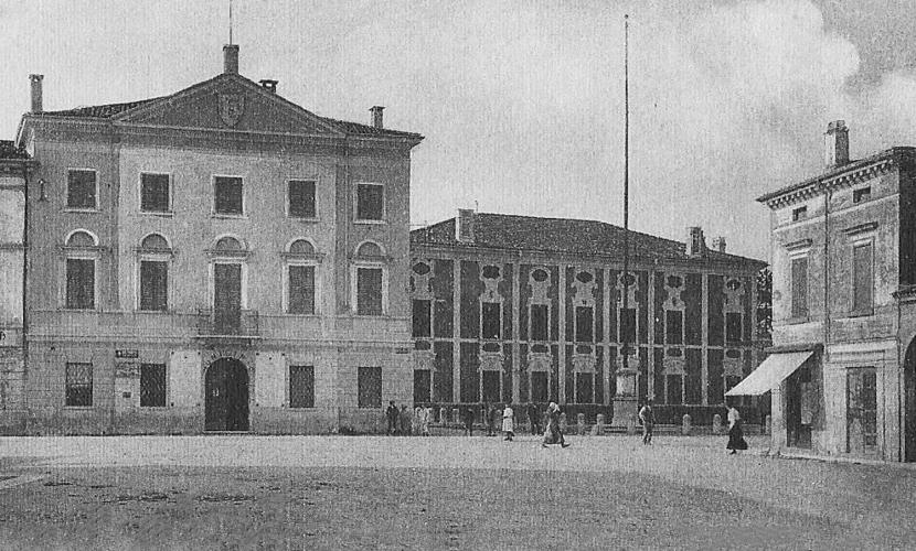 Il municipio di Roverbella