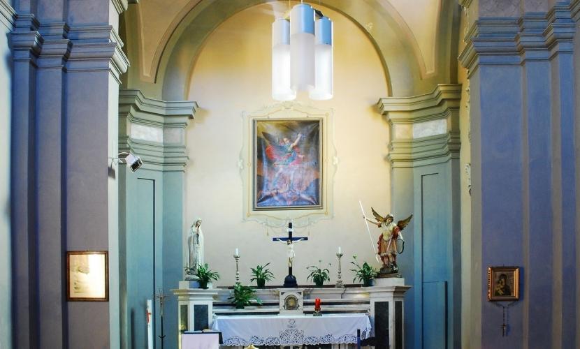 Interno Oratorio di Mottella