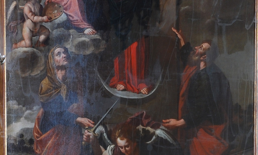 Dipinto Chiesa di Roncoferraro