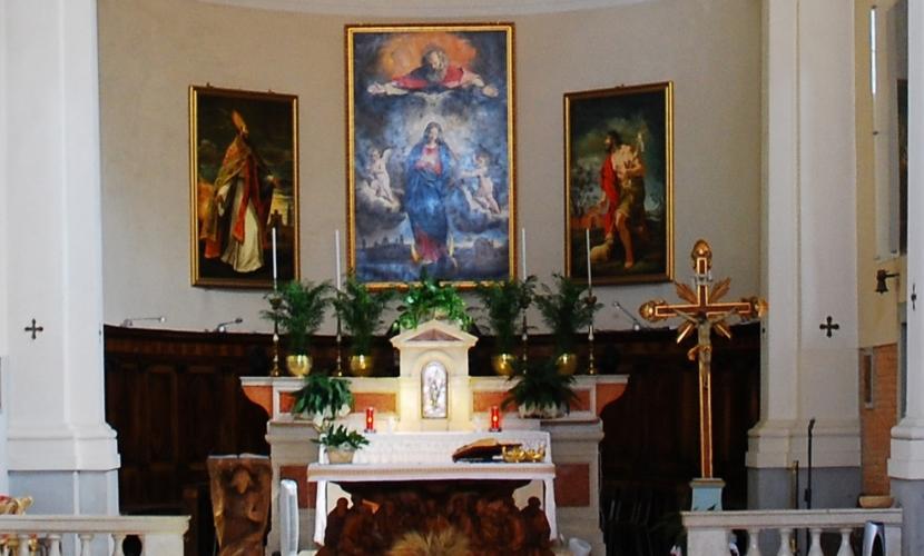 Altare Chiesa di Roncoferraro