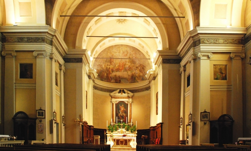 Pitture Chiesa di Castelbelforte