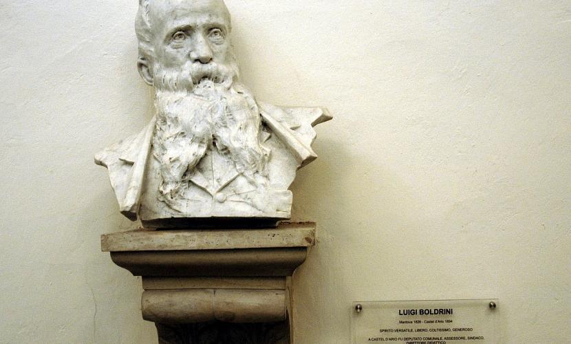 Luigi Boldrini, Mantova